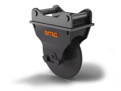 Asphalt cutter S40 Center mounted - 400mm
