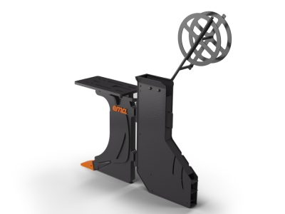 Std Cable plow - Width inv 95mm - Depth 1000mm - Without bracket