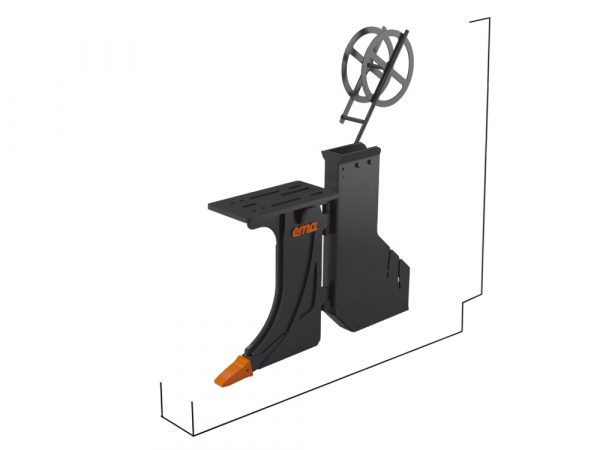 Std Kabelplog - Bredd inv 65mm - Djup 1000mm - Utan fäste