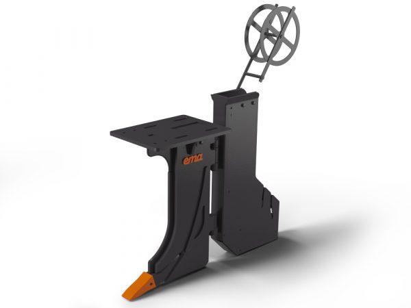 HD Kabelplog - Bredd inv 120mm - Djup 1200mm - Utan fäste